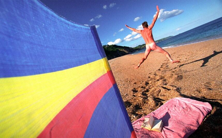 Swingers nude beach in france