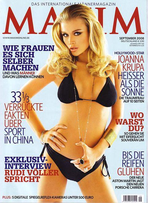 Joanna krupa maxim magazine