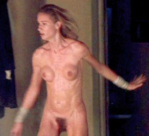 Sexy naked skinny black girl