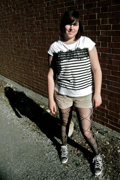 Fishnet tights american apparel