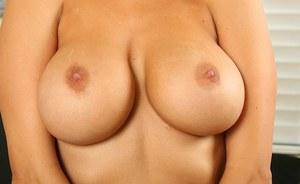 Nude puffy breast hd