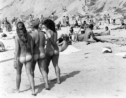 Vintage nudist beach girls nude