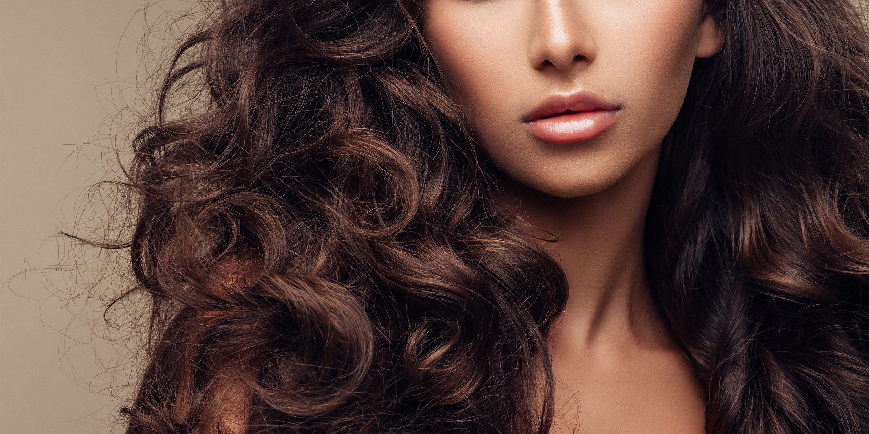 Natural body women thick hair