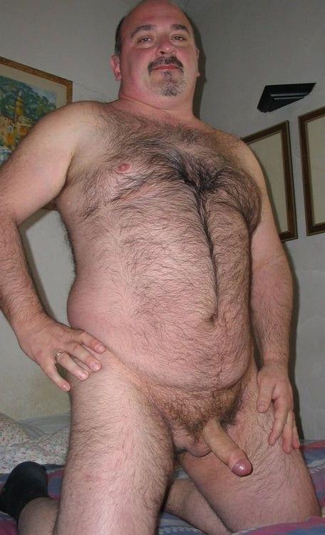 Nude hairy mature daddies