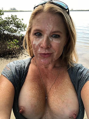 Fat bbw mature facial
