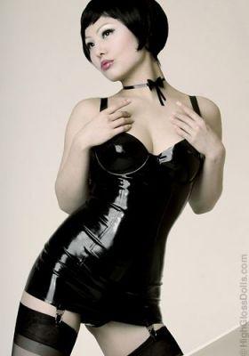 Latex hot girl gallery
