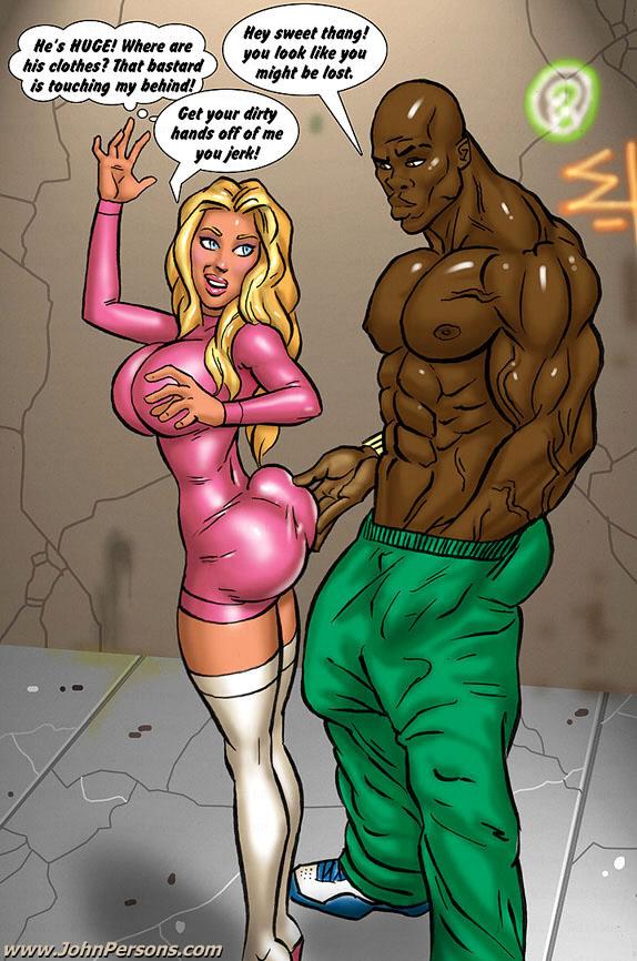 Comic xxx black woman