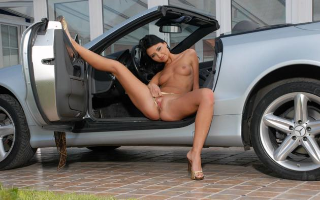 Nice benz naked pictures