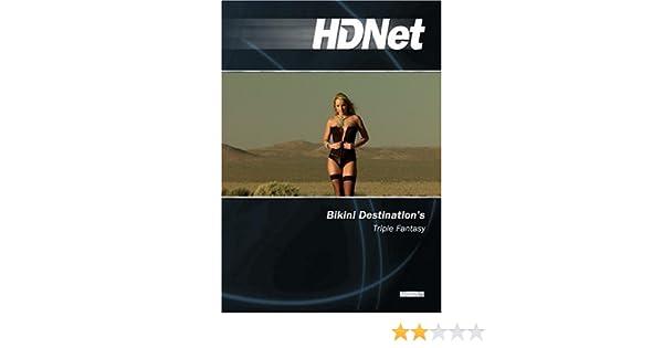 Bikini destination triple fantasy nude