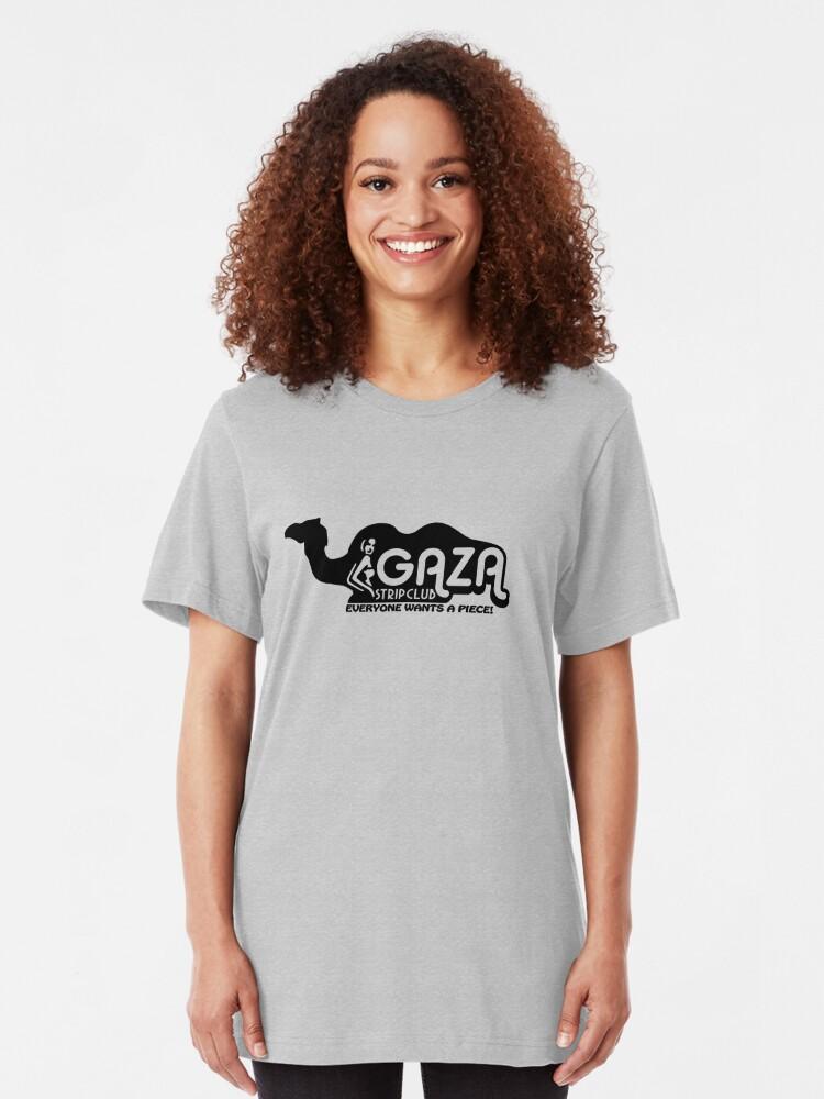 T gaza shirt club strip