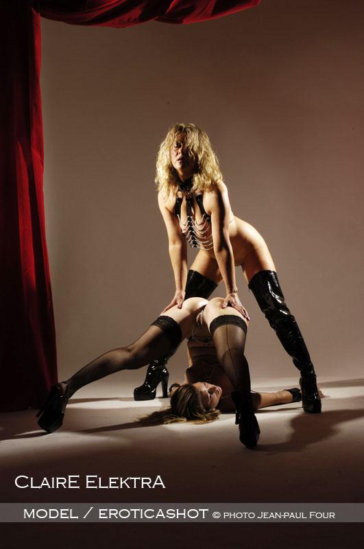 Lesbian erotic art bondage
