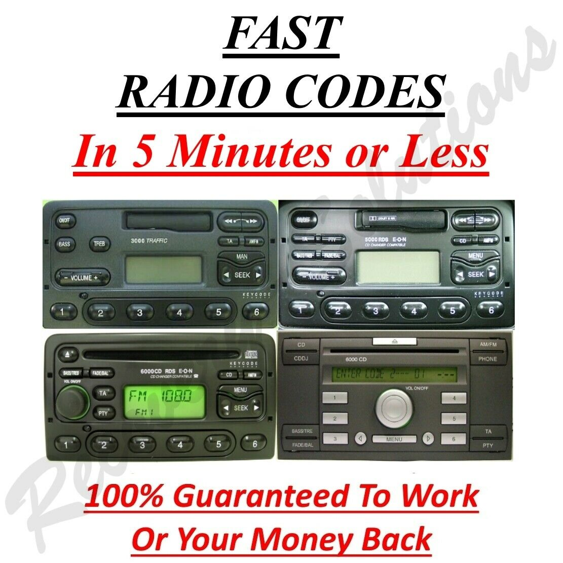 Escort pats codes ford
