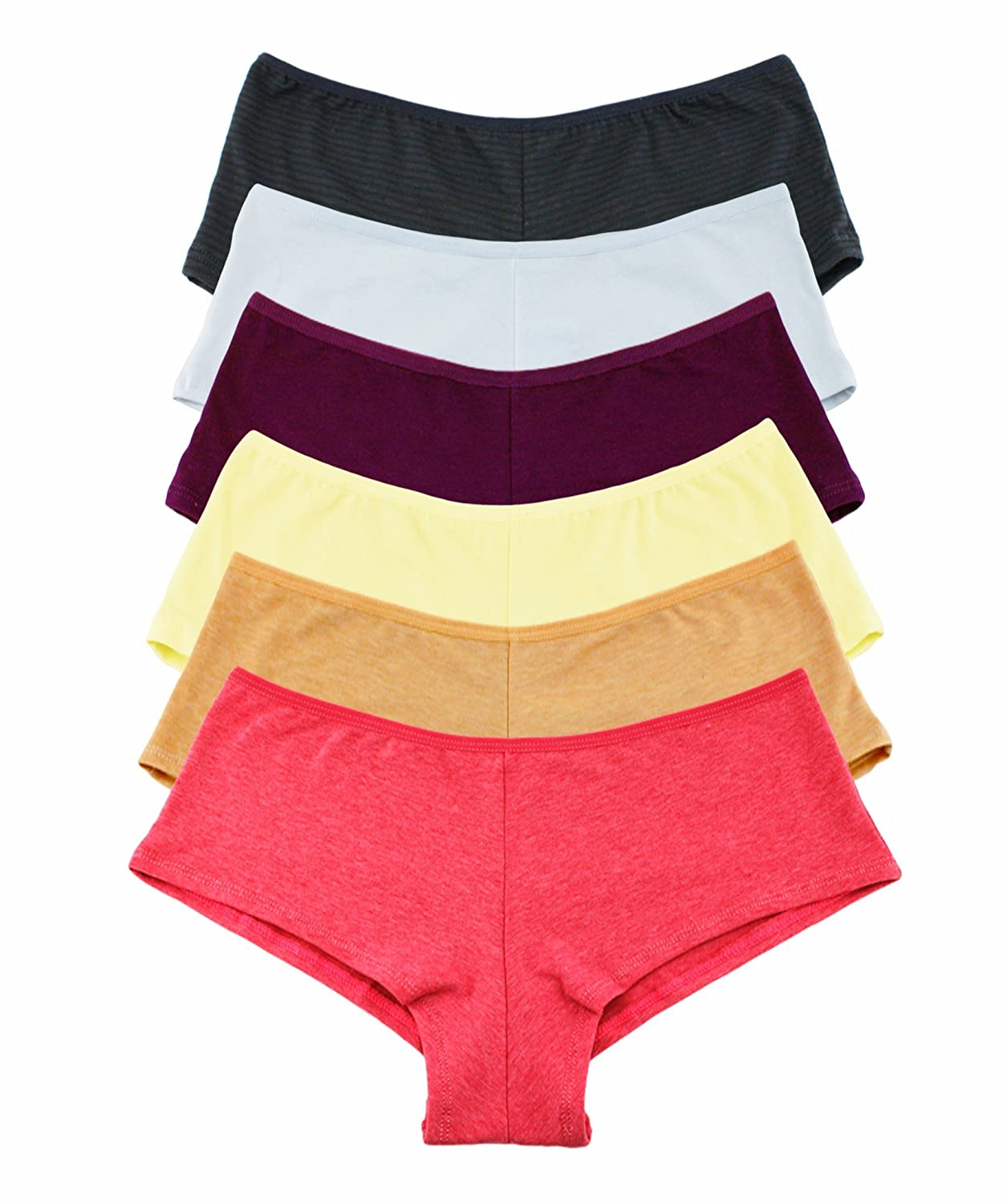 Cheeky boy shorts panties