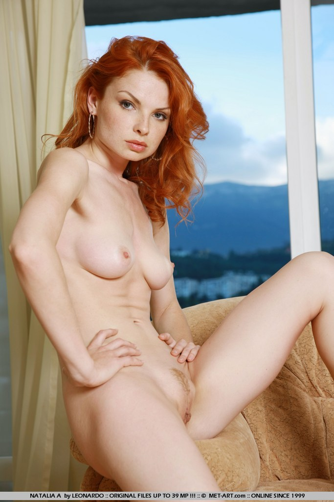 Sexy nude red heads with freckles