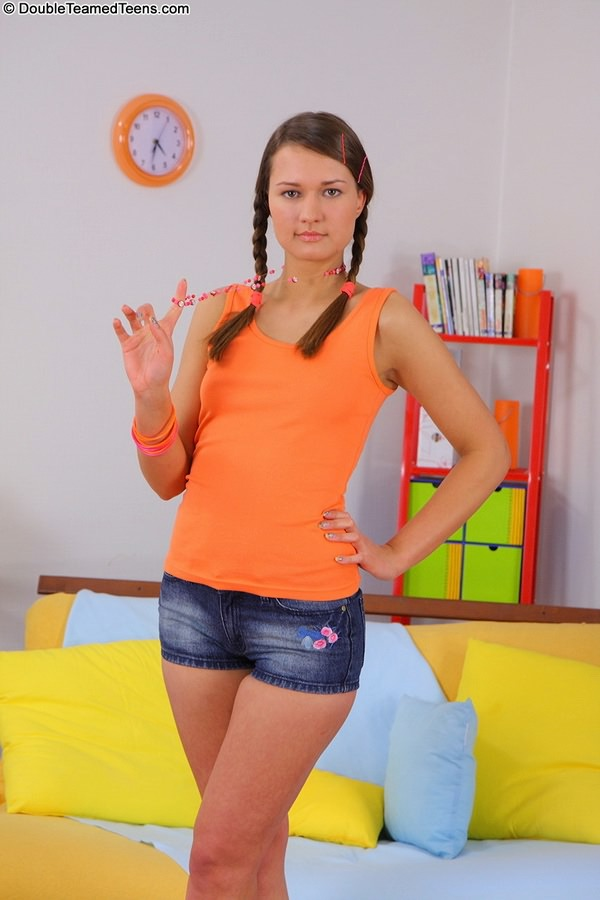 Double teamed teens addison