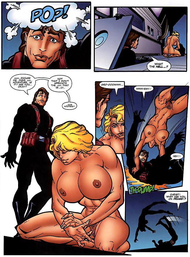 Naked sex anime girls of comic