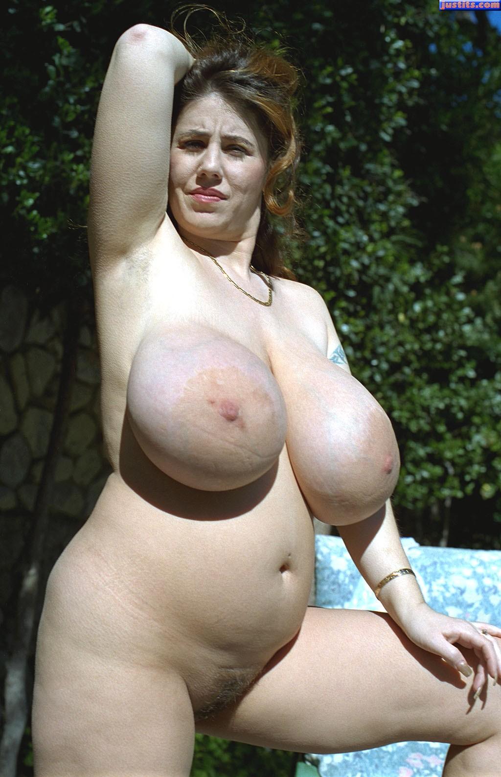 Huge tits areola amateur