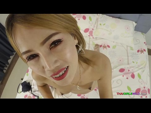 Thai girls wild creampie