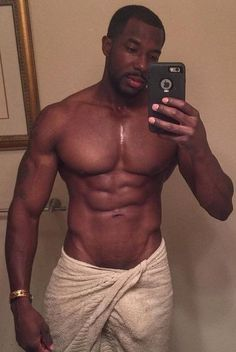 Black hot man nude