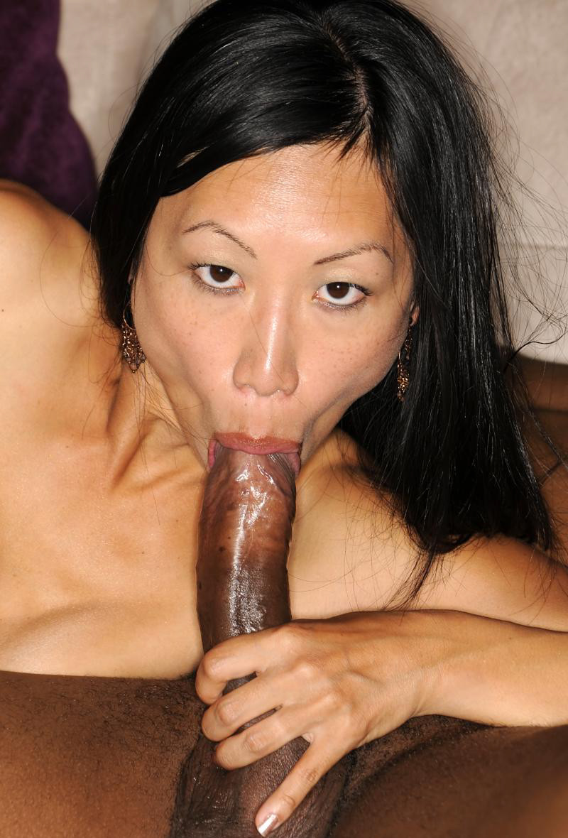 Cock giant throating girl asian deep