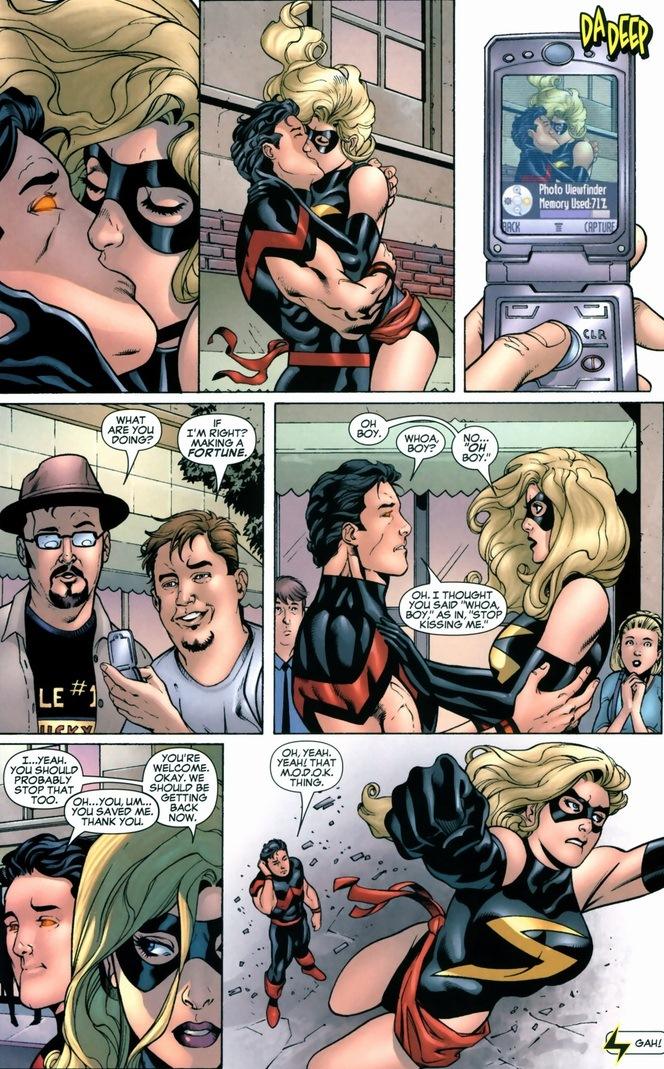 Ms marvel sex comic