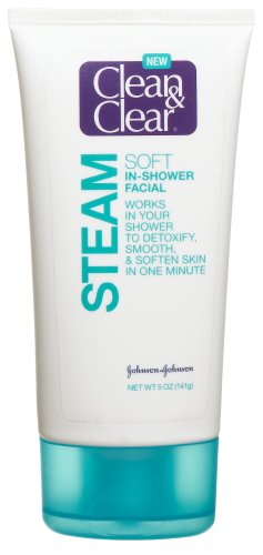 Clean and clear soft in shower facial