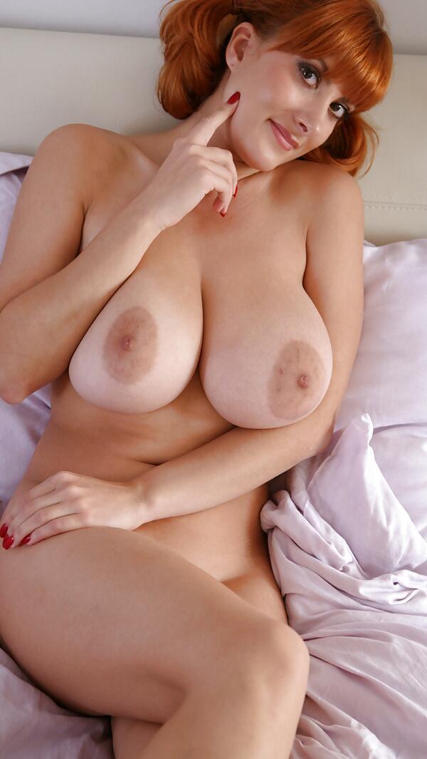 Homemade big tit redhead sex