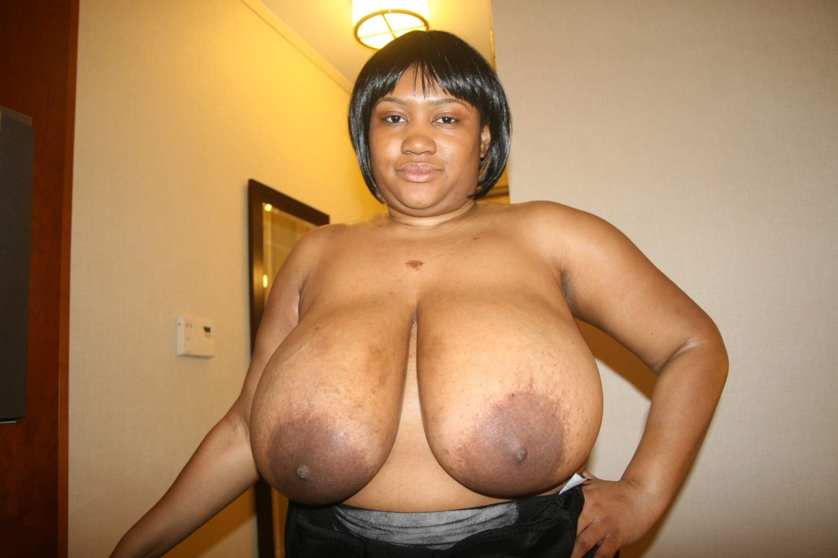 Black woman ebony tits bbw