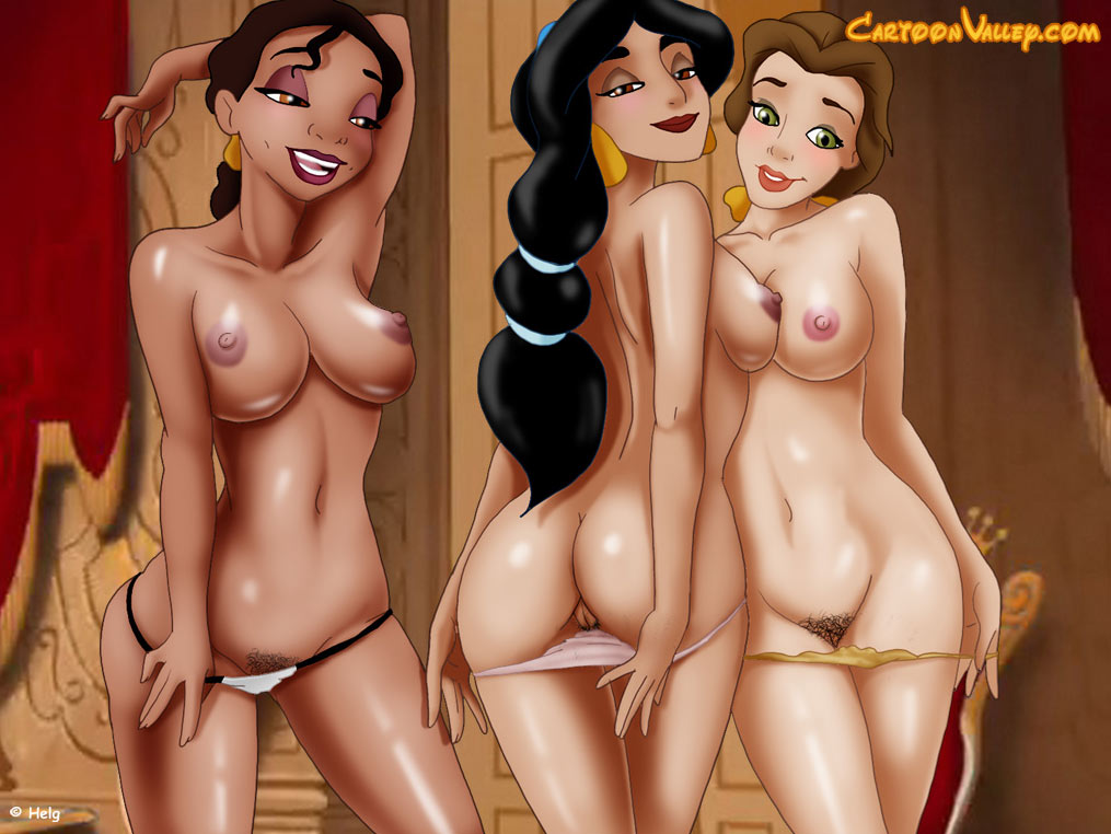 Sexy disney cartoons naked