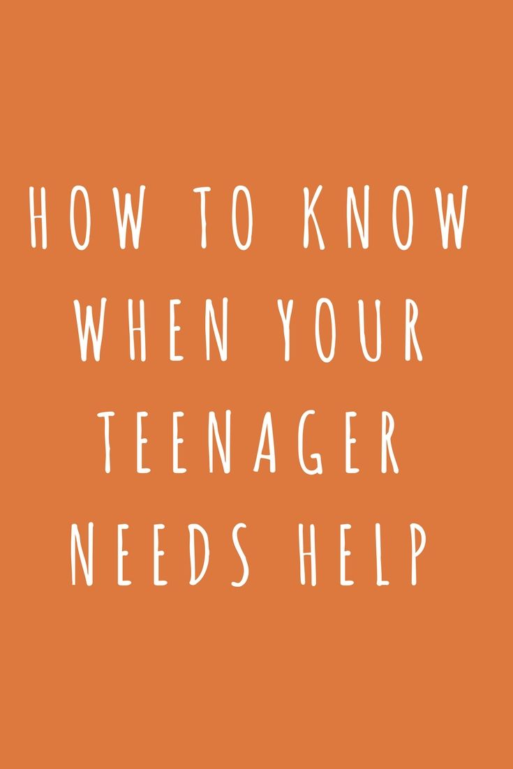 Teen depression warning signs information getting help