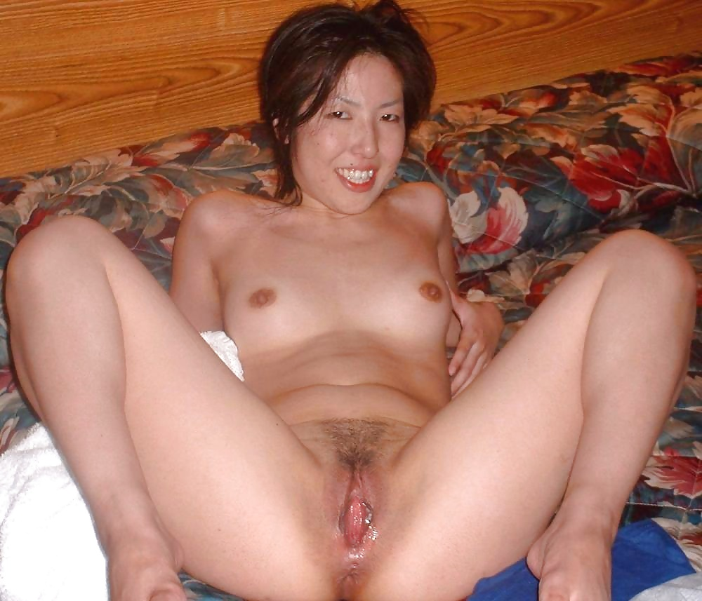 Asian wife pussy spread amateur