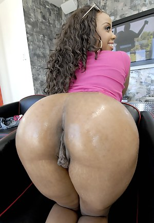 Black big ass and pussy