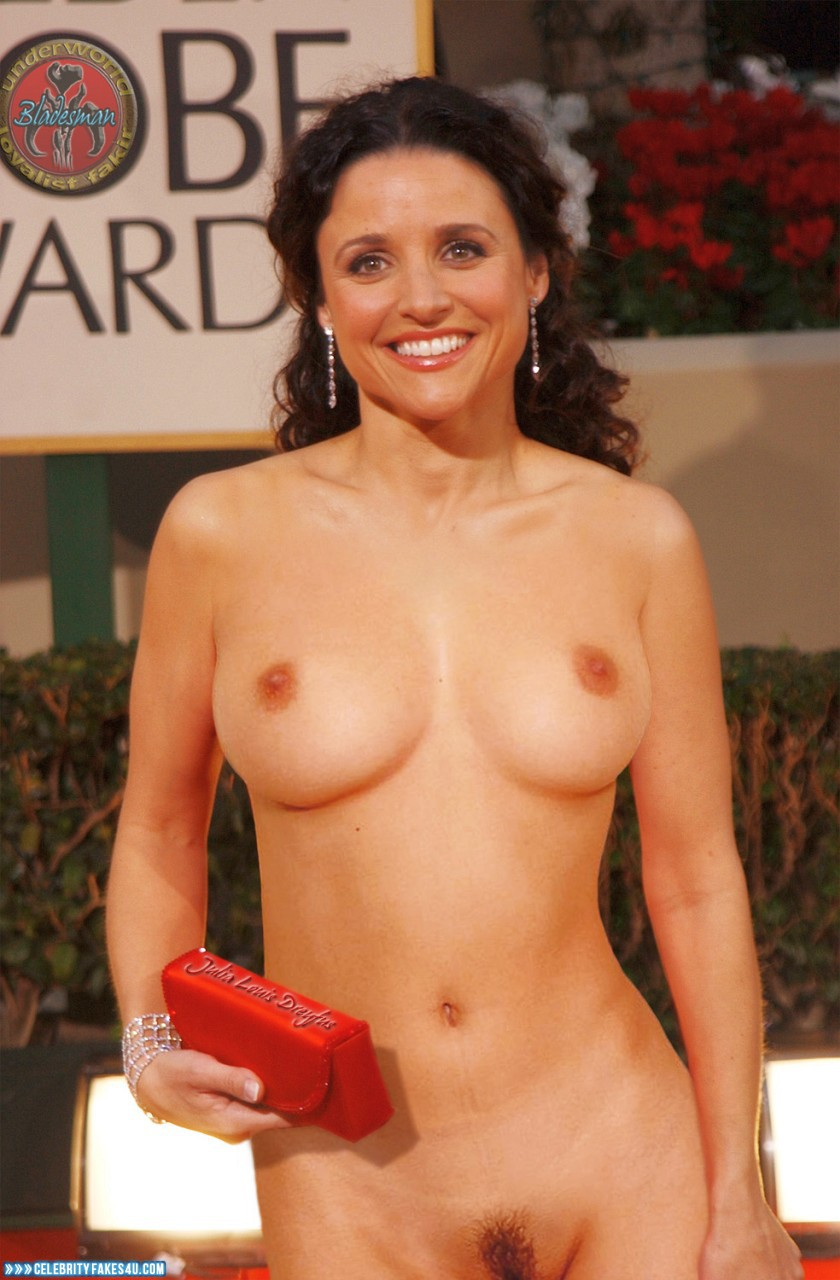 Julia louis dreyfus naked fakes