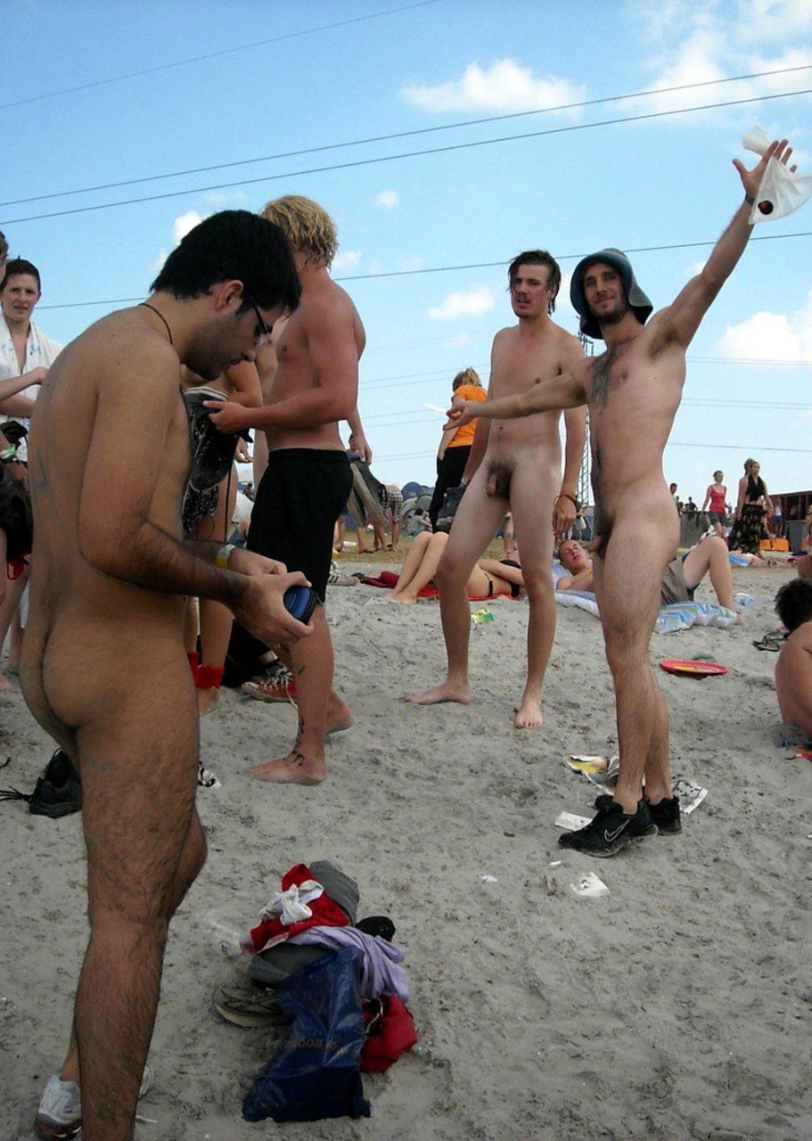 Boys caught and stripped naked