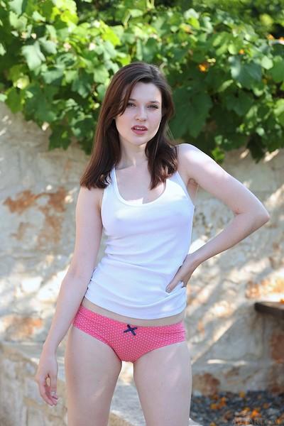Sexy girls pussy pink panties