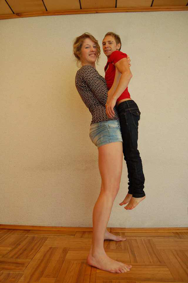 Midget men tall women porn