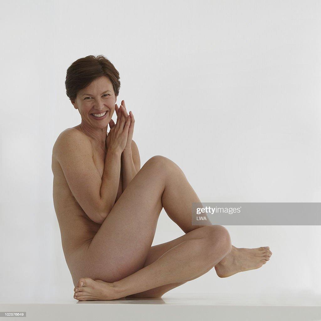 Beautiful mature woman naked