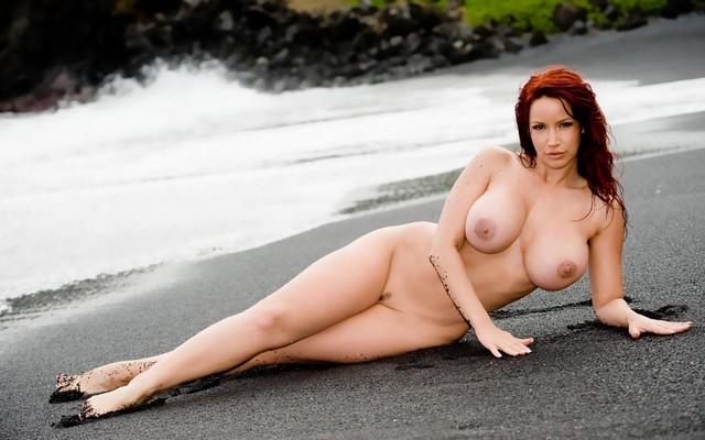Beauchamp beach bianca nude on