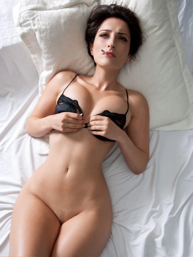Hot naked women smoking