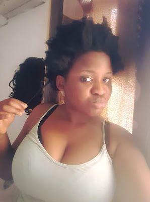 Big boobie nigerian girl