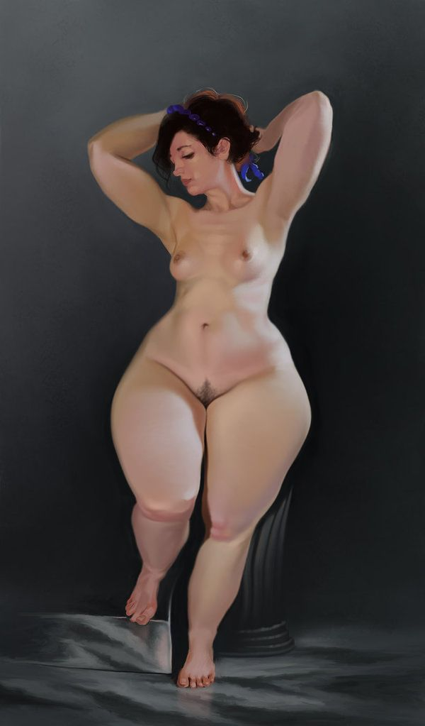 Sexy wide hips fat girl nude pic