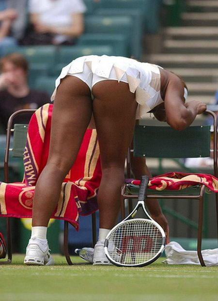Serena upskirt venus williams