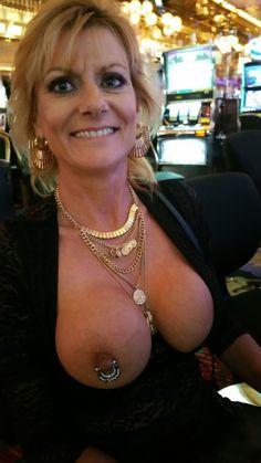 Mature ladies with pierced nipples