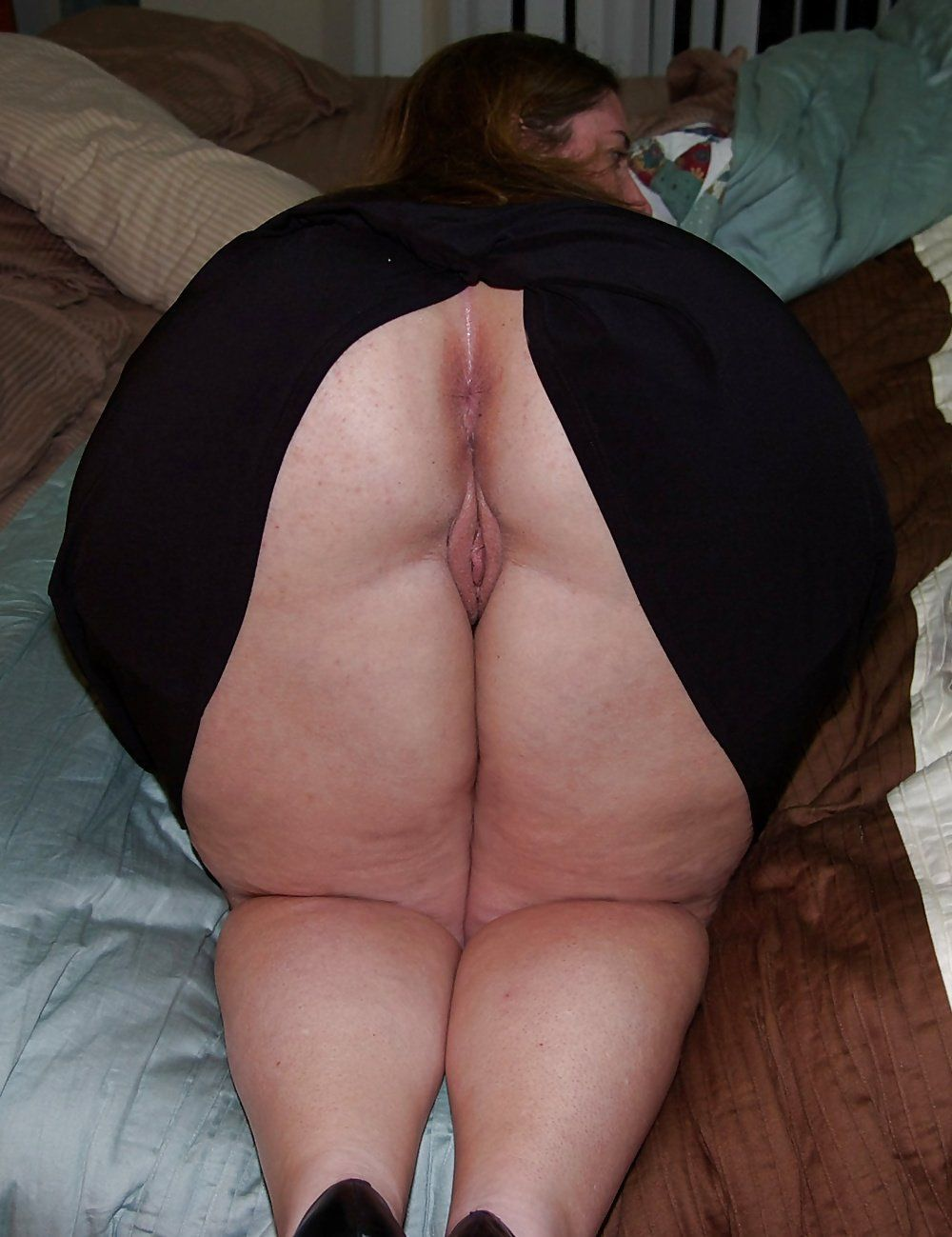 Bbw spread huge asshole