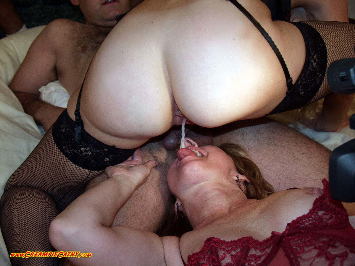 Multiple creampie swinger tube