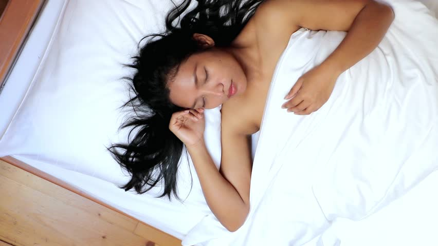 In sleep nude girl