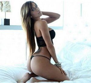 Sexy secretary in lingerie fuck
