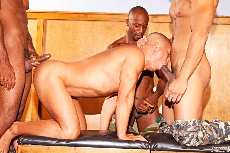 Pound and punish ebony next door