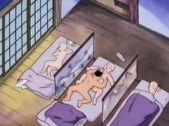 Anime first time naked