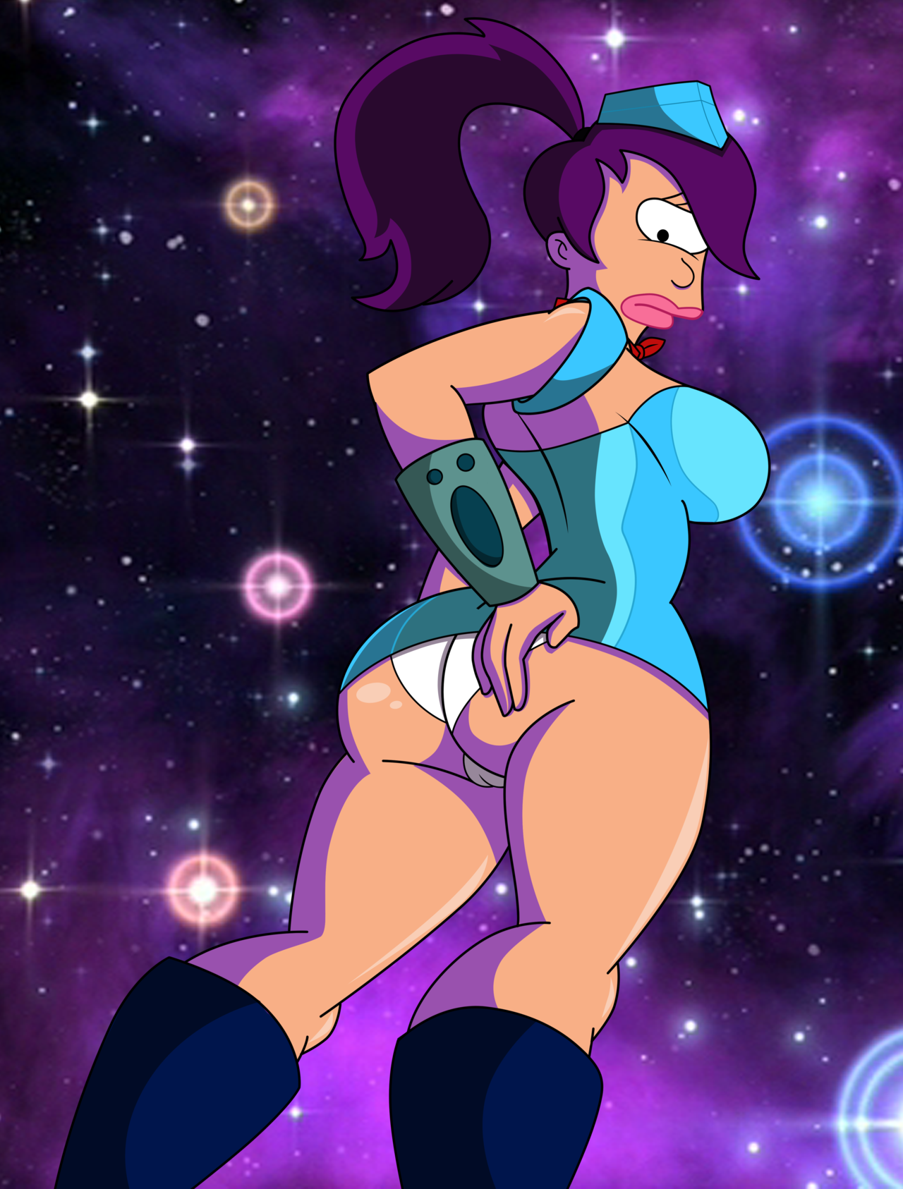 Young naked futurama leela